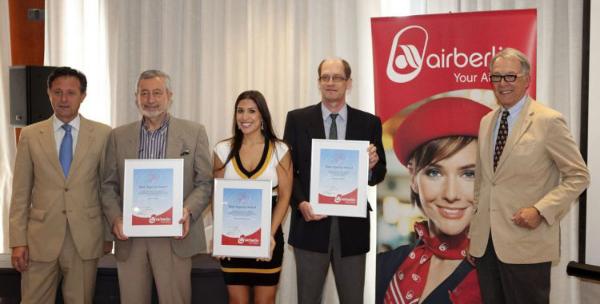 La franquicia Almeida Viajes se lleva el premio 'Mejor Agencia 2011'