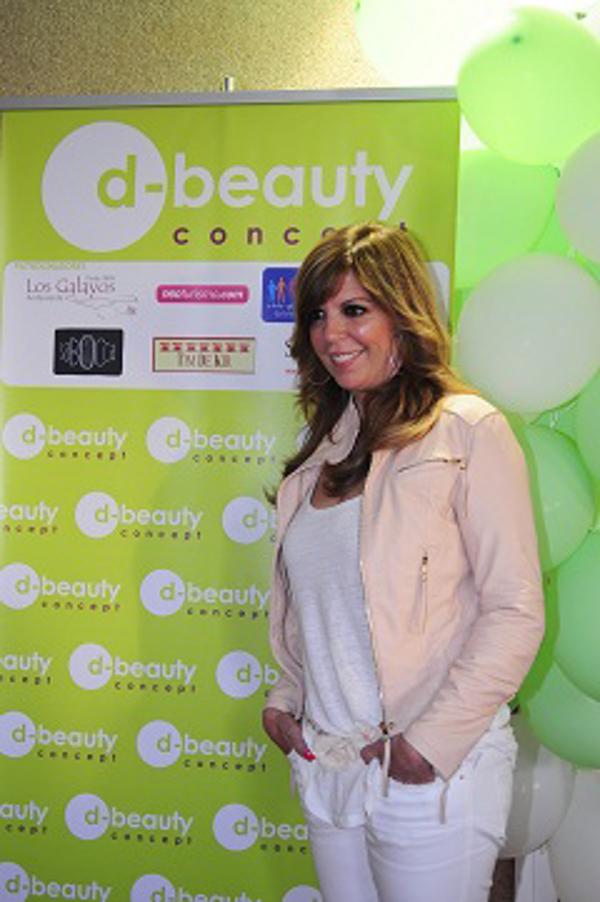 Inauguración de una nueva franquicia d-beauty concept en Las Rosas (Madrid) con Belinda Washington
