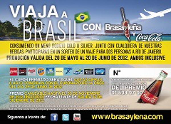 Franquicia Brasayle�a junto con Coca Cola te regalan un viaje a Brasil