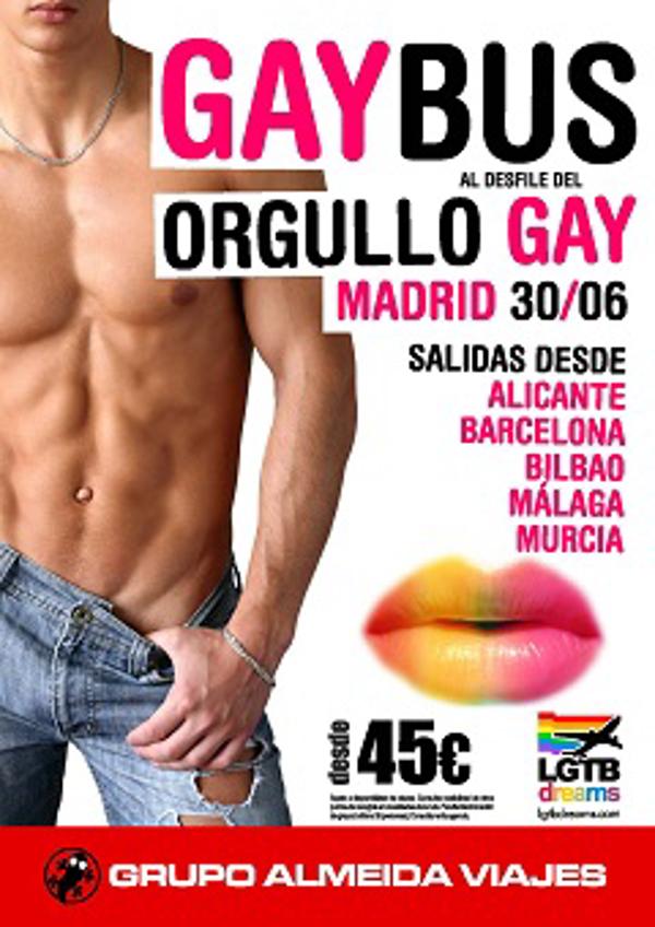 Escapadas �Low Cost� al Desfile del Orgullo Gay en las franquicias Almeida Viajes