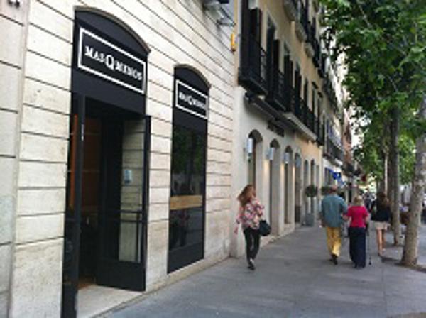 La franquicia MasQMenos en el madrileño Barrio Salamanca