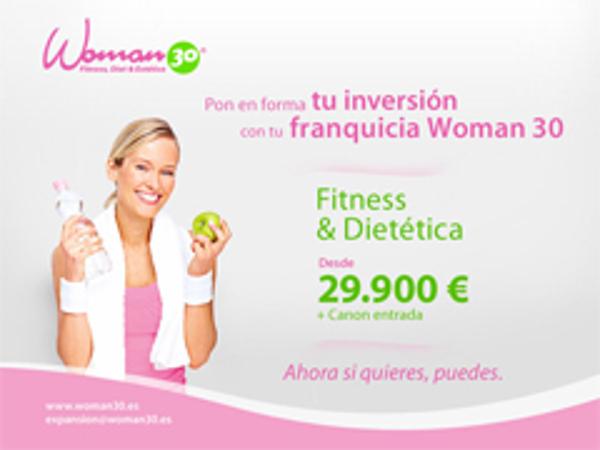 Oferta Exclusiva para contratos de franquicias Woman 30 firmados los meses de Junio y Julio