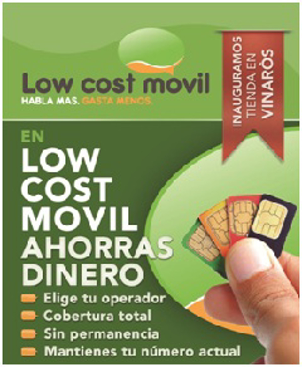 Low Cost Movil estrena franquicia en Vinar�s