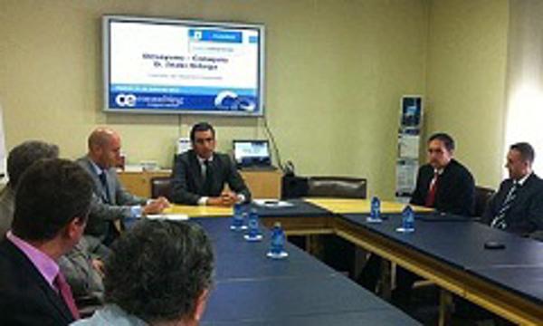 I�aki Ortega, comparte desayuno con las franquicias de CE Consulting Empresarial