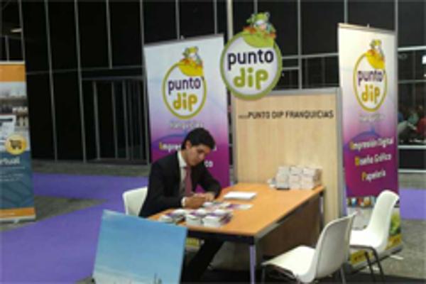 Las franquicias Punto Dip en Bizbarcelona 2012