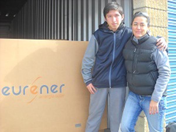 Franquicias Eurener patrocinadores en la Carrera Solar Atacama