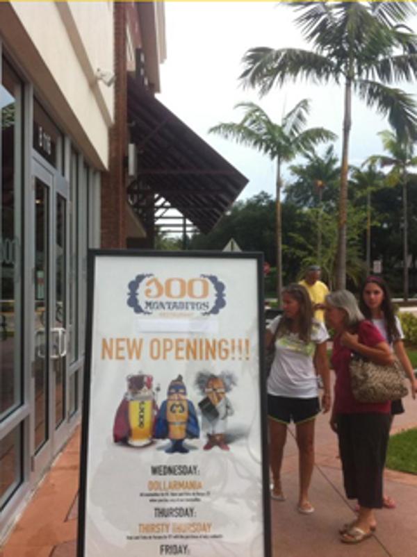 2 nuevas inauguraciones de franquicias 100 Montaditos en Florida