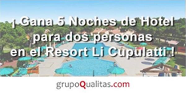 Las franquicias Grupo Qualitas regalan 5 Noches de hotel