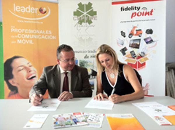 Convenio de colaboración de franquicias Leader  Mobile con Cepyme Realejos