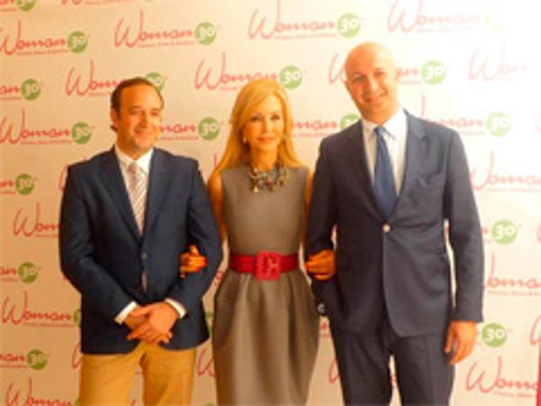 Carmen Lomana inaugura la franquicia Woman 30 de Ecija