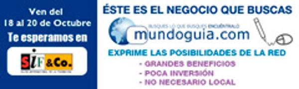 Conoce Mundoguia en la pr�xima edici�n de SIF & CO - Valencia