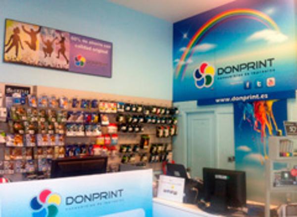 Donprint inicia su actividad como franquicia tras cuatro años en el mercado