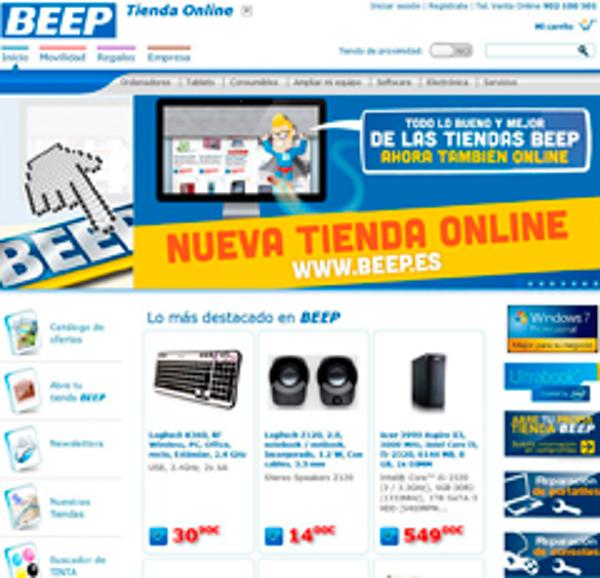 La red de franquicias BEEP pone en marcha su nueva tienda online