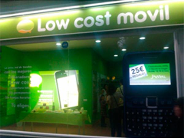 La Franquicia  Low Cost M�vil abre su primera tienda en Madrid
