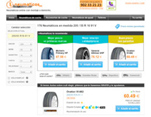 Franquicia i-Neumáticos.es incorpora la Etiqueta Europea en su venta online