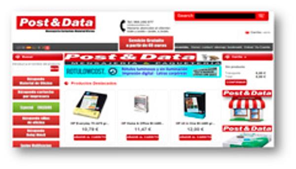 La franquicia Post&Data incorpora a sus Centros el servicio de tienda on line