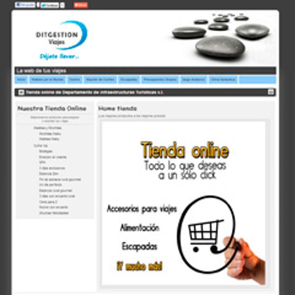 Dit Gestión abre una tienda online de productos para agencias de viajes
