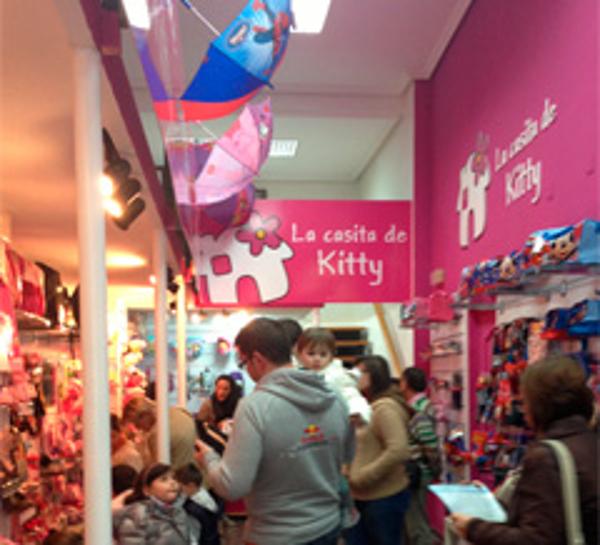 La Casita de Kitty inaugura su nueva franquicia en Bailen