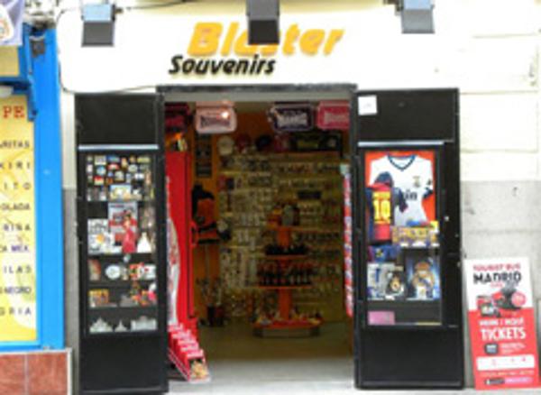 Bluster Souvenirs suma una nueva franquicia en Madrid